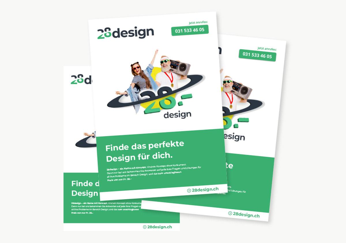 Flyer Design Erstellen Lassen Individuell Für Nur Fr 28